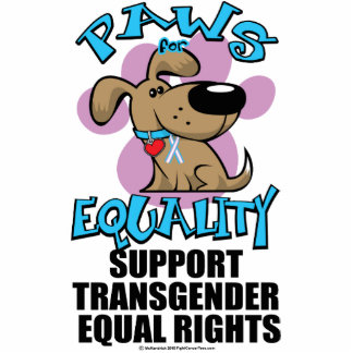 Paws for Equality Transgender Statuette