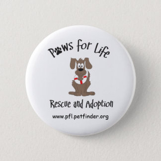 Paws for Life button