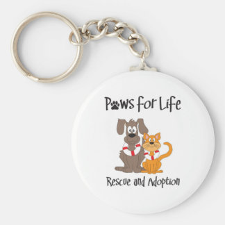 paws-for-life keychain