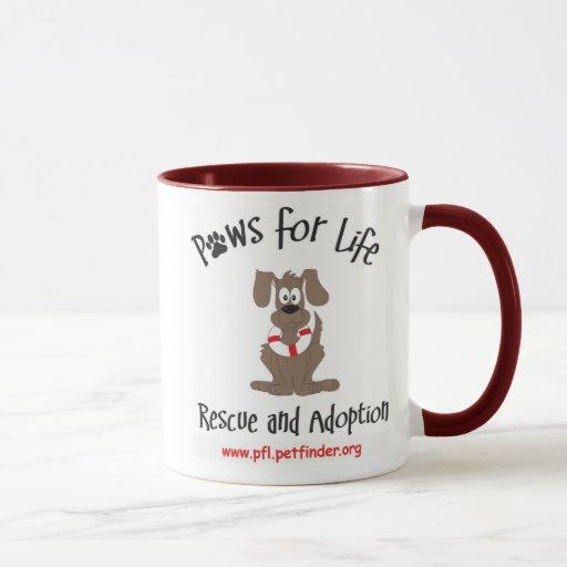 Paws for Life mug
