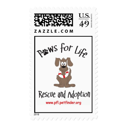 Paws for Life stamps
