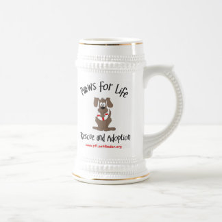 Paws for Life stein