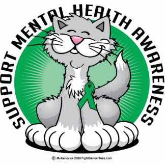 Paws for Mental Health Cat Cutout