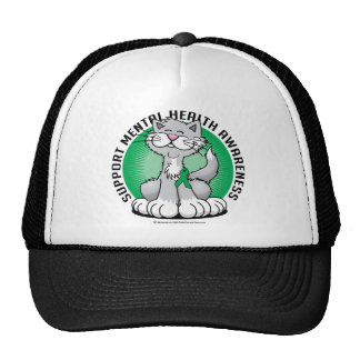 Paws for Mental Health Cat Trucker Hat
