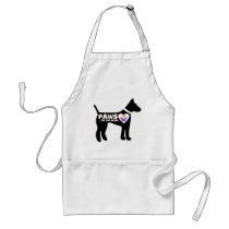 pAwS for our cause Adult Apron