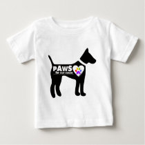 pAwS for our cause Baby T-Shirt