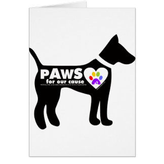 pAwS for our cause Card