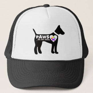 pAwS for our cause Trucker Hat