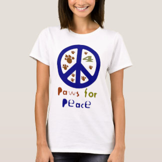 Paws for Peace (Navy) T-Shirt