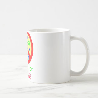 Paws for Peace (Red) Coffee Mug