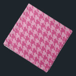 "Paws-for-Style Houndstooth Bandana<br><div class=""desc"">Paws-for-style with our unique paws and houndstooth design.  A great gift or stocking stuffer for pet,  pet-lovers and pet care professional. Our bandanas are also available in pawless houndstooth,  so pets can coordinate with their human!</div>"