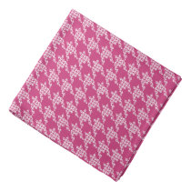 Paws-for-Style Houndstooth Bandana