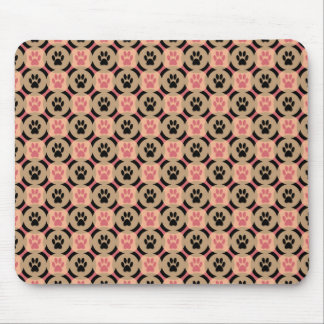 Paws-for-Style Mouse Pad (Cinnamon)