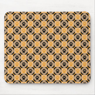 Paws-for-Style Mouse Pad (Mustard)