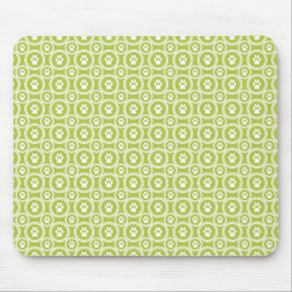 Paws-for-Style Mouse Pad (Olive)