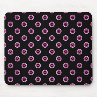 Paws-for-Style Mouse Pad (Raspberry)