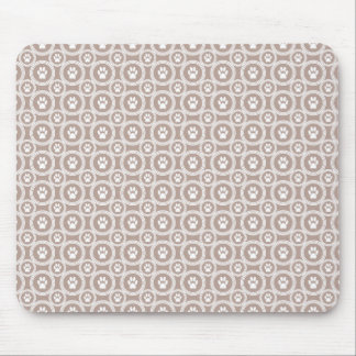Paws-for-Style Mouse Pad (Taupe)