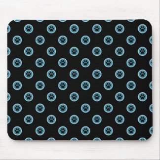 Paws-for-Style Mouse Pad (Teal)