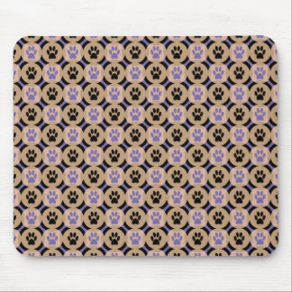 Paws-for-Style Mouse Pad (Violet)