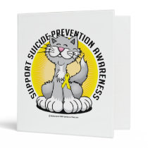 Paws for Suicide Prevention Cat Binder