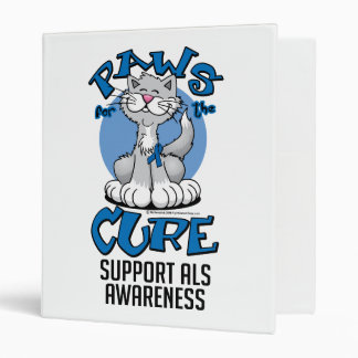 Paws for the Cure ALS Cat 3 Ring Binder