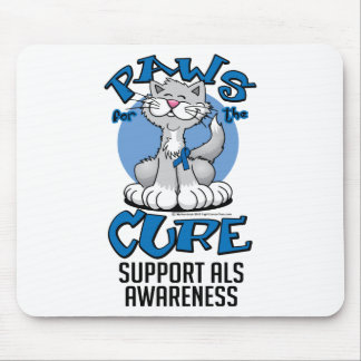 Paws for the Cure ALS Cat Mouse Pad