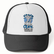 Paws for the Cure ALS Cat Trucker Hat