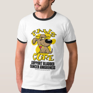Paws for the Cure Bladder Cancer T-Shirt
