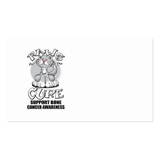 Paws for the Cure Cat Bone Cancer Business Card