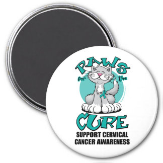 Paws for the Cure Cat Cervical Cancer Magnet