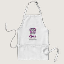Paws for the Cure Cat Crohn's Disease Adult Apron