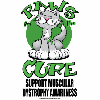 Paws for the Cure Cat Muscular Dystrophy Photo Cut Out