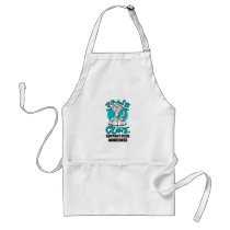 Paws for the Cure Cat PCOS Adult Apron