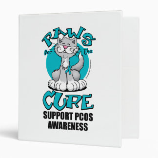 Paws for the Cure Cat PCOS Binder