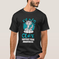 Paws for the Cure Cat PCOS T-Shirt