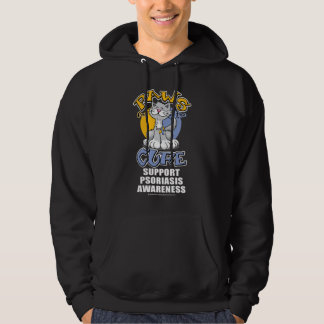 Paws for the Cure Cat Psoriasis Hoodie