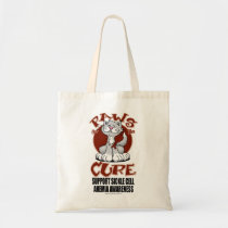 Paws for the Cure Cat SCA Tote Bag