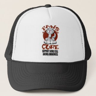 Paws for the Cure Cat SCA Trucker Hat