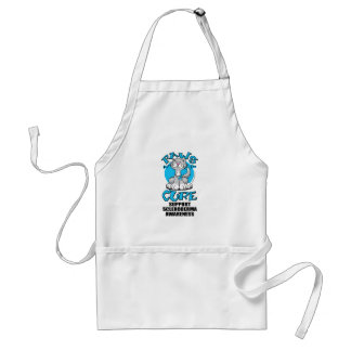 Paws for the Cure Cat Scleroderma Adult Apron