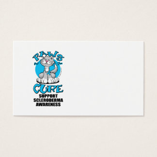 Paws for the Cure Cat Scleroderma Business Card
