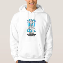 Paws for the Cure Cat Scleroderma Hoodie
