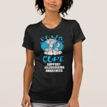 Paws for the Cure Cat Scleroderma T-Shirt