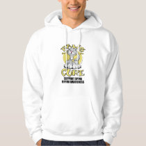 Paws for the Cure Cat Spina Bifida Hoodie