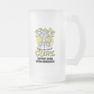 Paws for the Cure Cat Spina Bifida Mugs