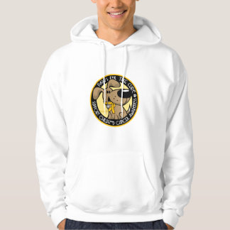 Paws for the Cure Childhood Cancer Hoodie