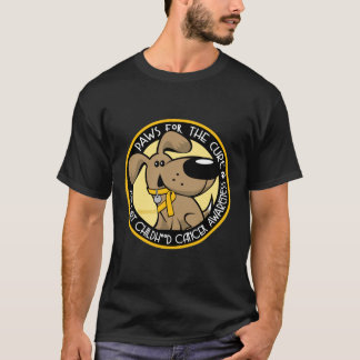 Paws for the Cure Childhood Cancer T-Shirt