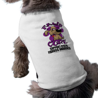 Paws for the Cure Cystic Fibrosis Doggie T-shirt