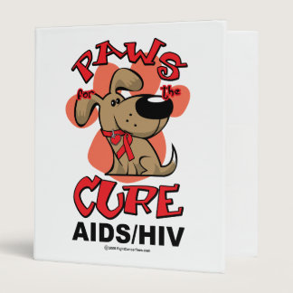 Paws for the Cure Dog AIDS Binder