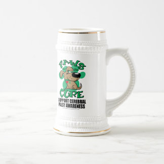 Paws for the Cure Dog Cerebral Palsy Beer Stein