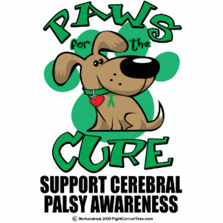 Paws for the Cure Dog Cerebral Palsy Statuette